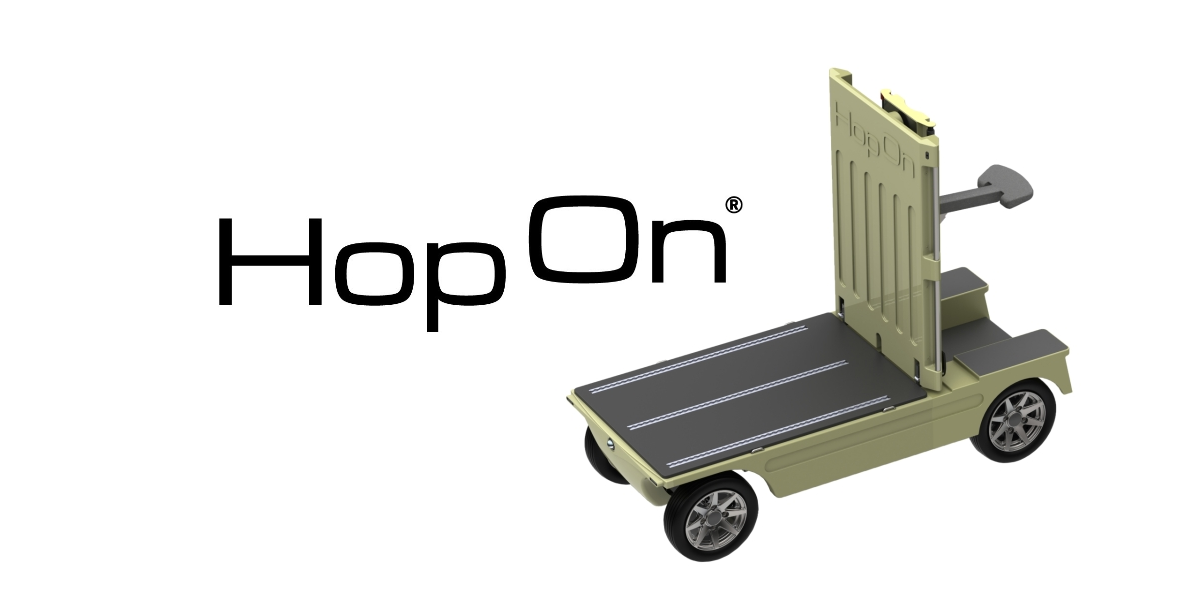 HopOn -  No cargo bike but a light electric vehicle